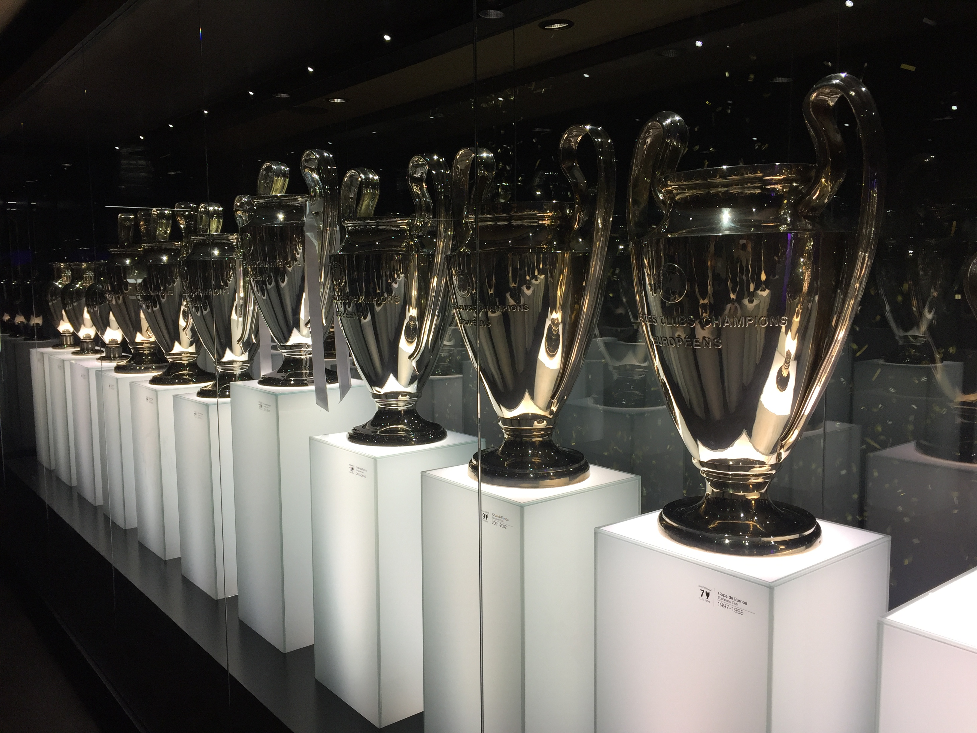 Madrid - muzeum Real Madrid